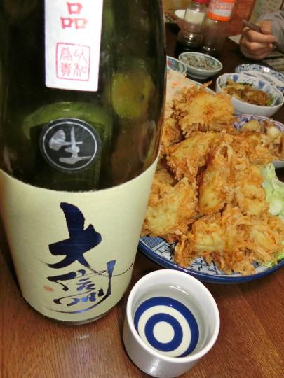 ベツバンとエノキ天ぷら